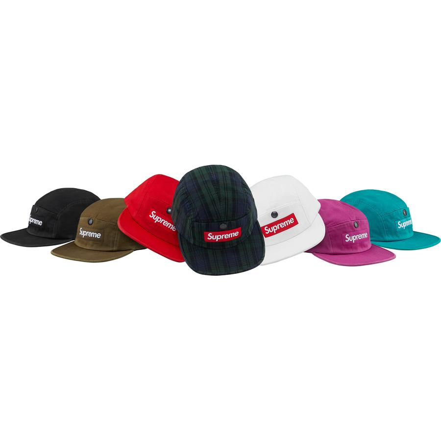 Supreme Snap Button Pocket Camp Cap