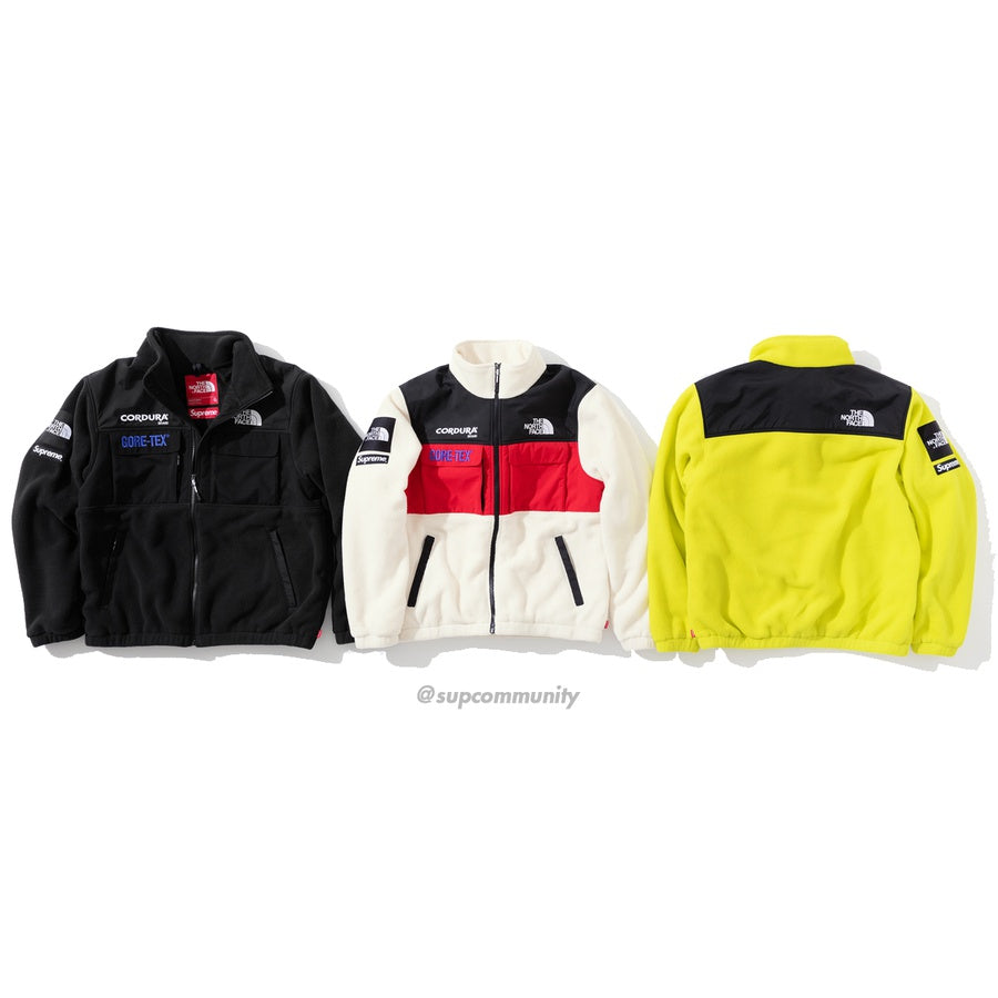 Supreme/The North Face Expedition Fleece Jacket
