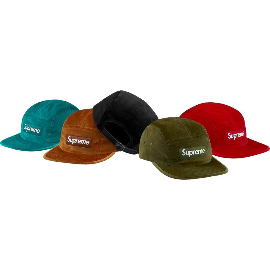 Supreme Velvet Camp Cap