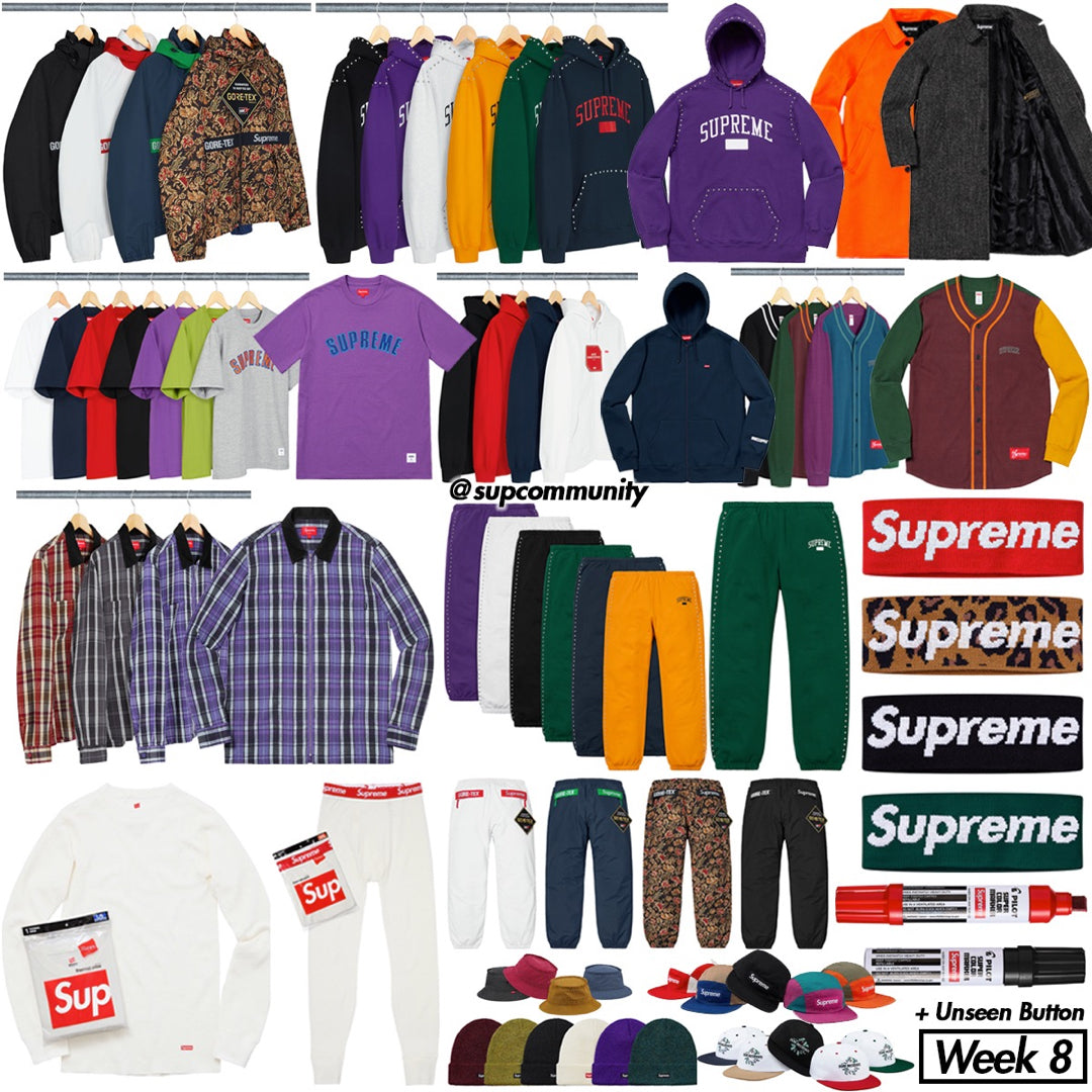 9613682a7 Supreme Setup Guide & Keywords Week 8 FW18 | ForceCop