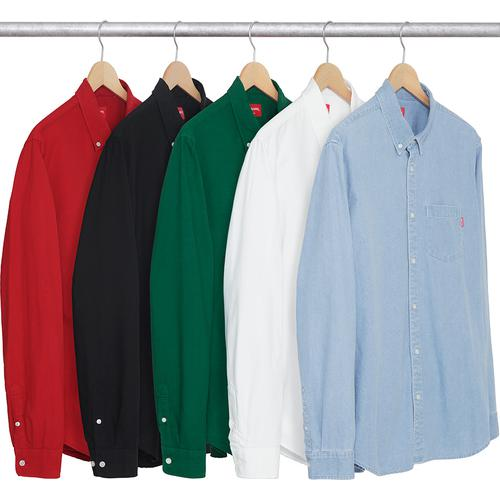 Oxford Shirt Supreme Fall/Winter 2017