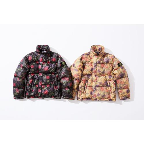 Supreme®/Stone Island® Lamy Cover Stampato Puffy Jacket