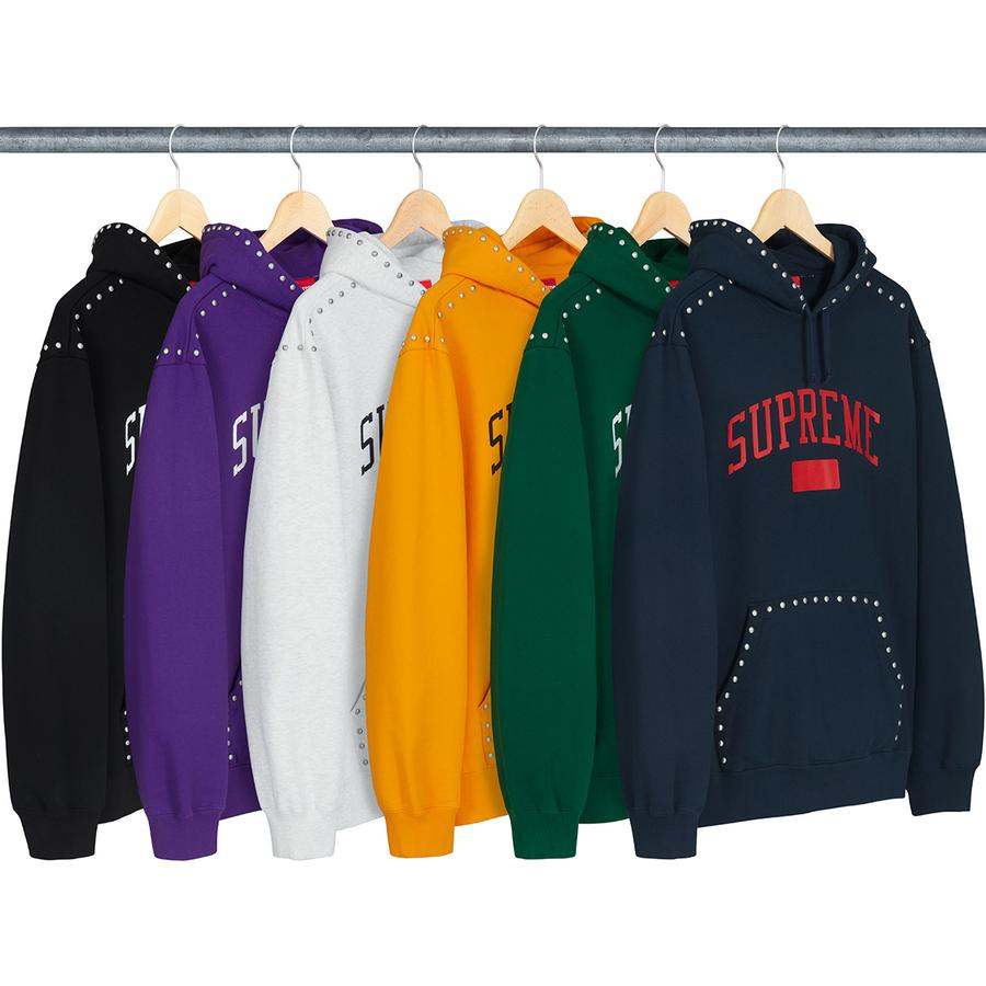 Supreme Studded Hooded Sweatshirt