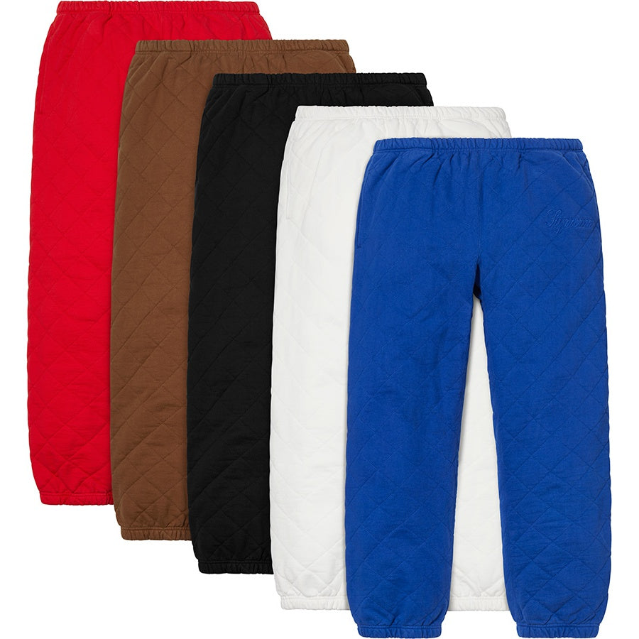 Supreme Quilted Sweatpant