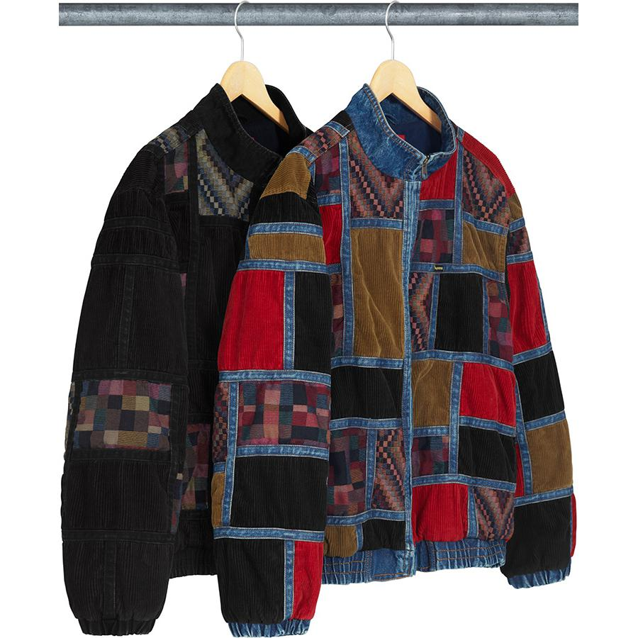 Supreme Corduroy Patchwork Denim Jacket