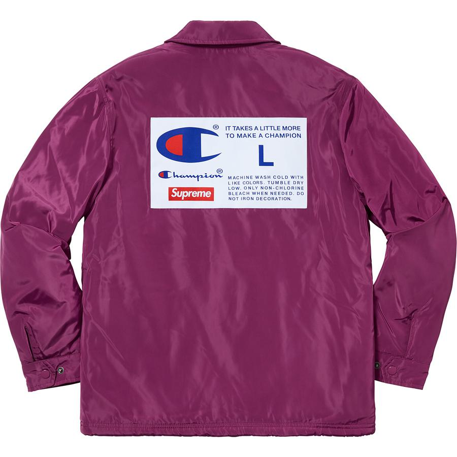 Supreme Champion Label Coaches Jacket