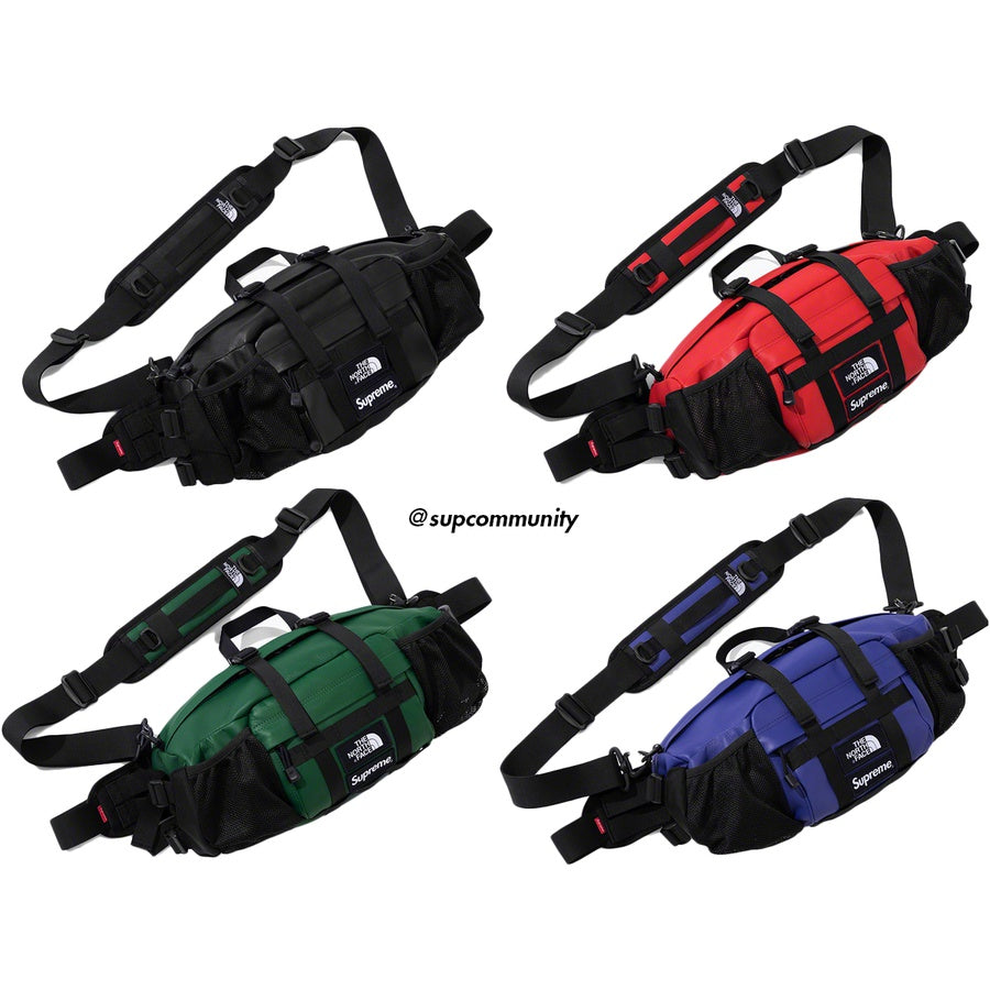Supreme/The North Face Leather Mountain Waist Bag
