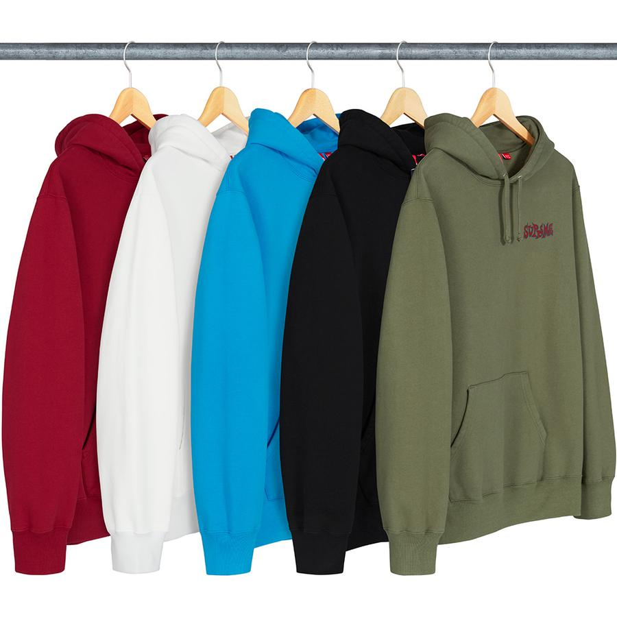 Supreme Portrait Hooded Sweatshirt