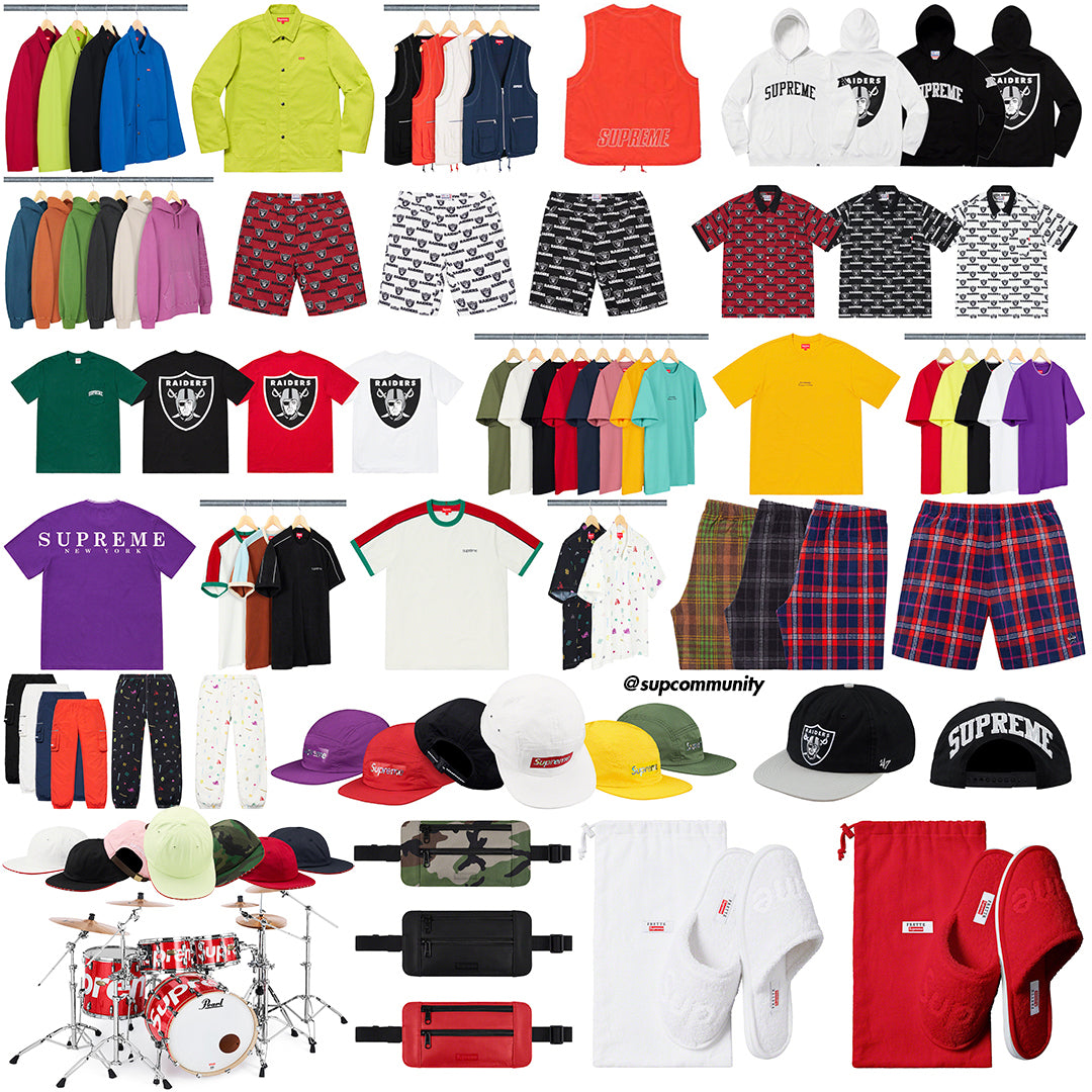 Supreme Setup Guide & Keywords Week 15 ss19