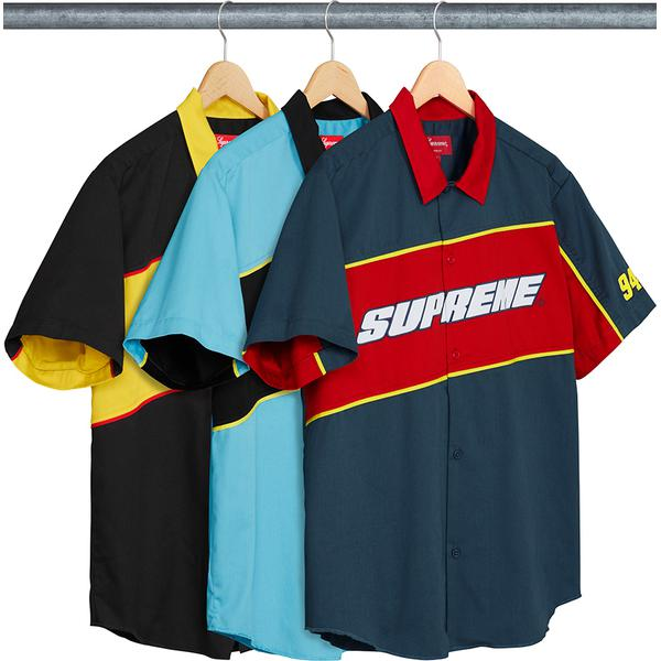 Supreme Color Blocked Work Shirt