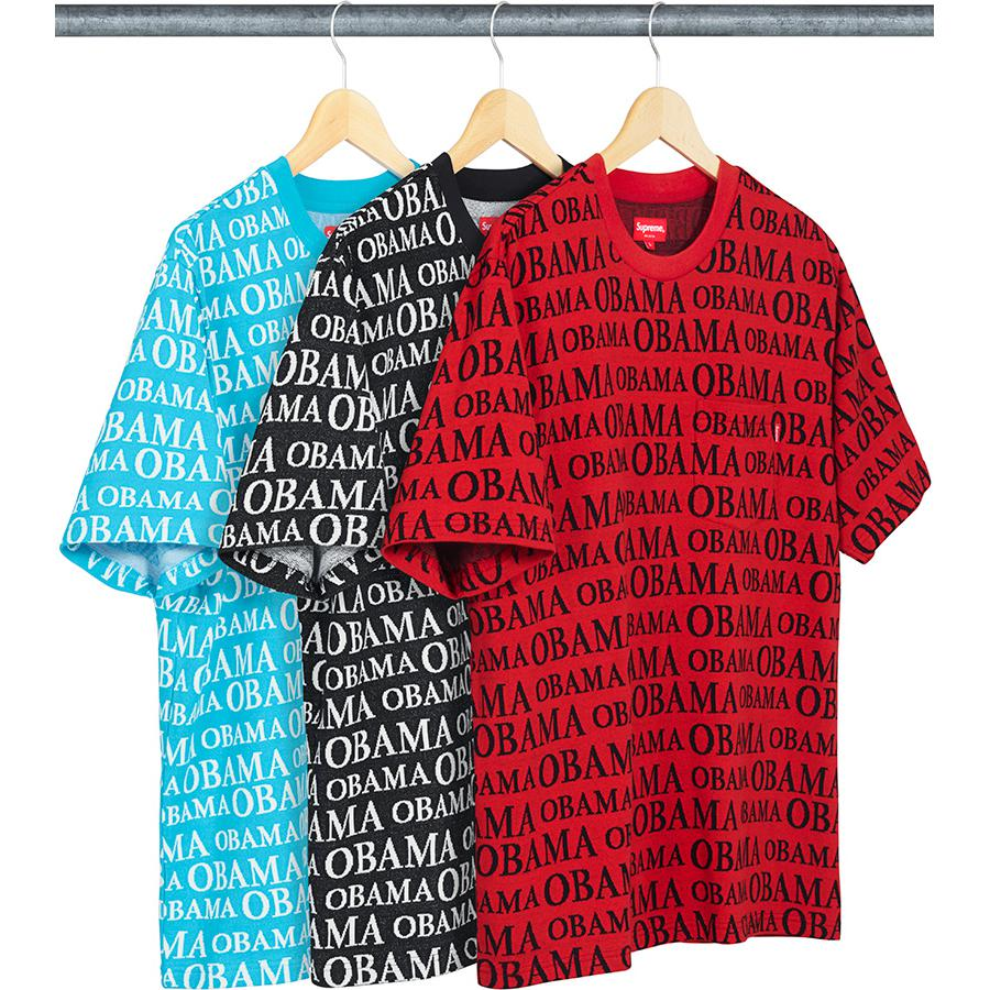 Supreme Obama Jacquard S/S Top
