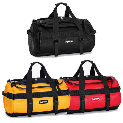 The North Face® Leather Base Camp Duffel