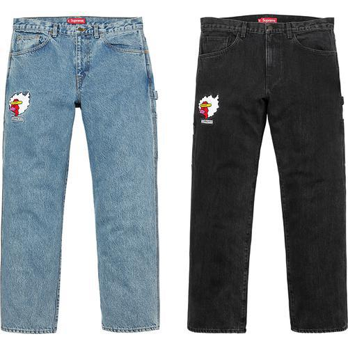 Gonz Ramm Washed Denim Painter Pant