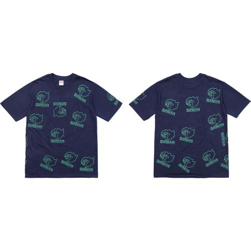 Gonz Head Tee Supreme Fall/Winter 2017