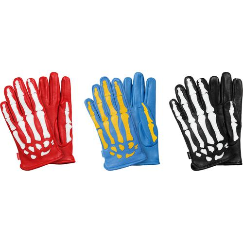 Supreme®/Vanson® Leather X-Ray Gloves