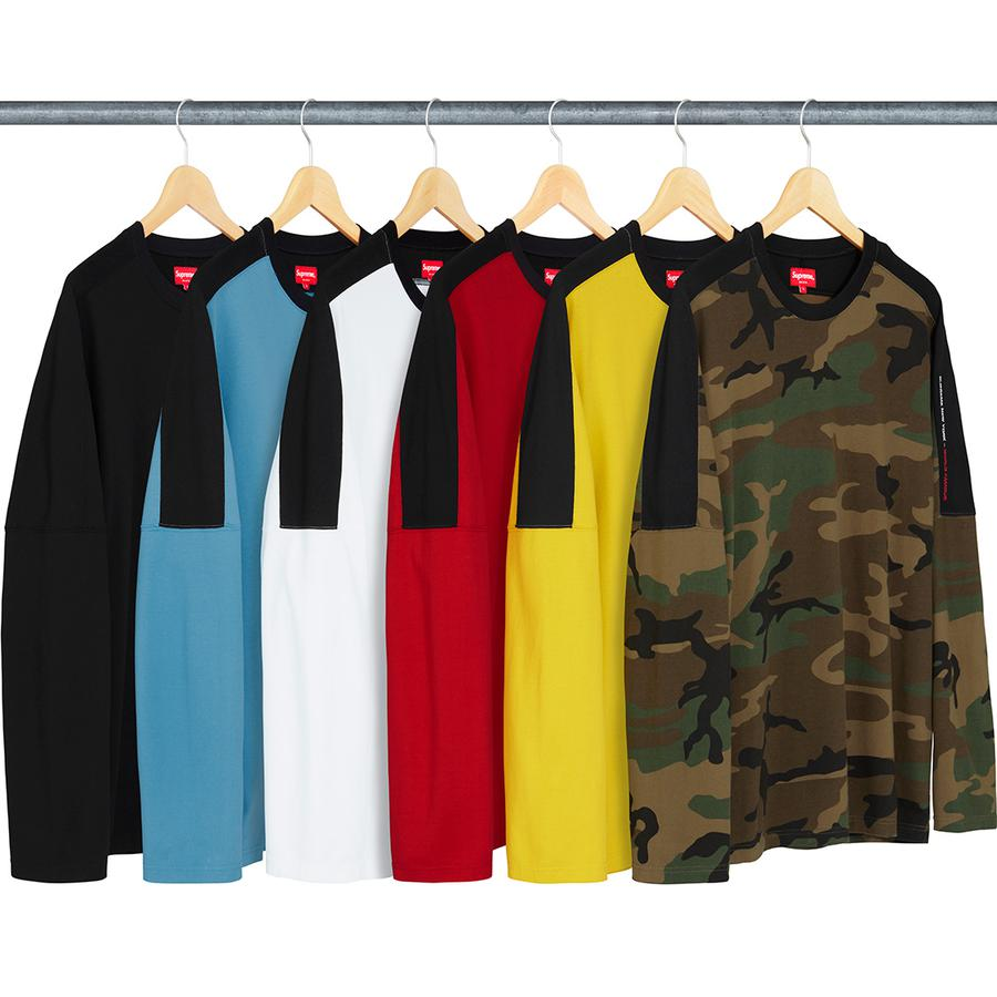 Supreme Paneled L/S Top