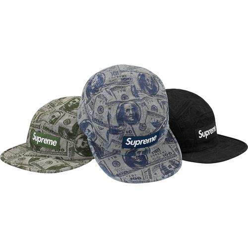 100 Dollar Bill Camp Cap