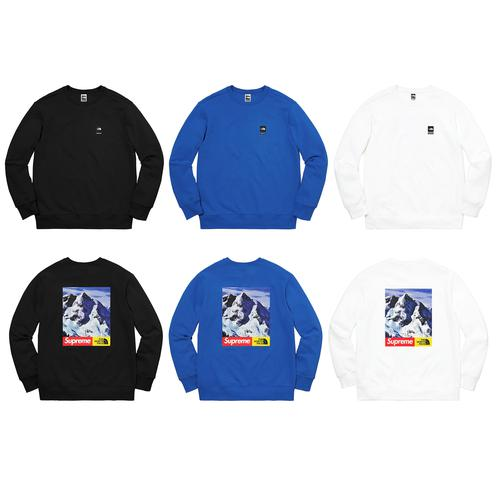 Supreme®/The North Face® Mountain Crewneck Sweatshirt