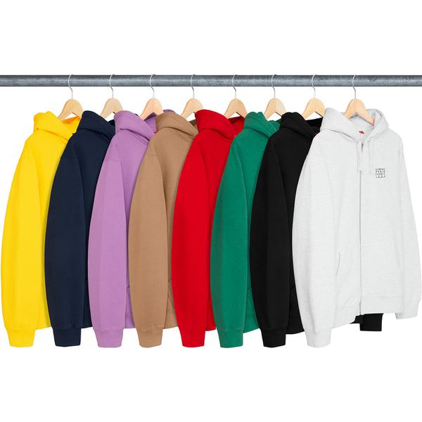World Famous Zip Up Hooded Sweatshirt