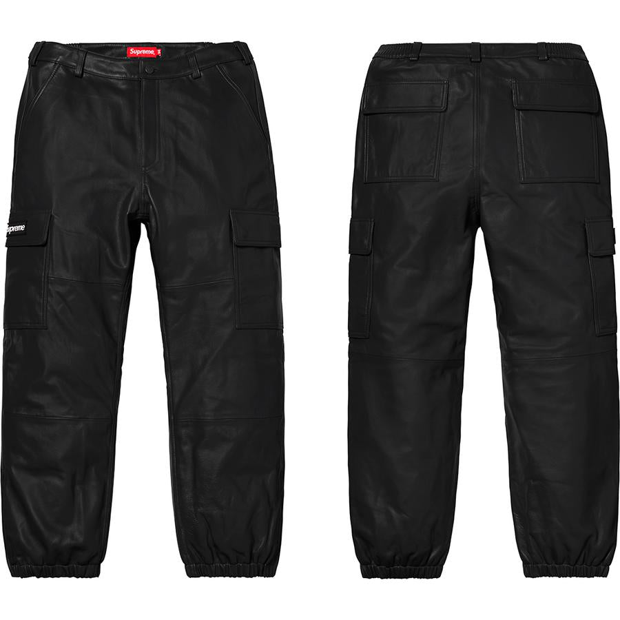 Supreme Leather Cargo Pant