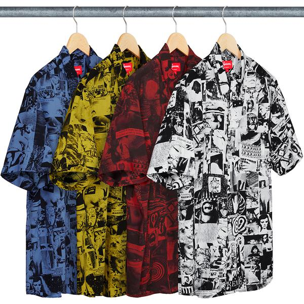 Supreme Vibrations Rayon Shirt