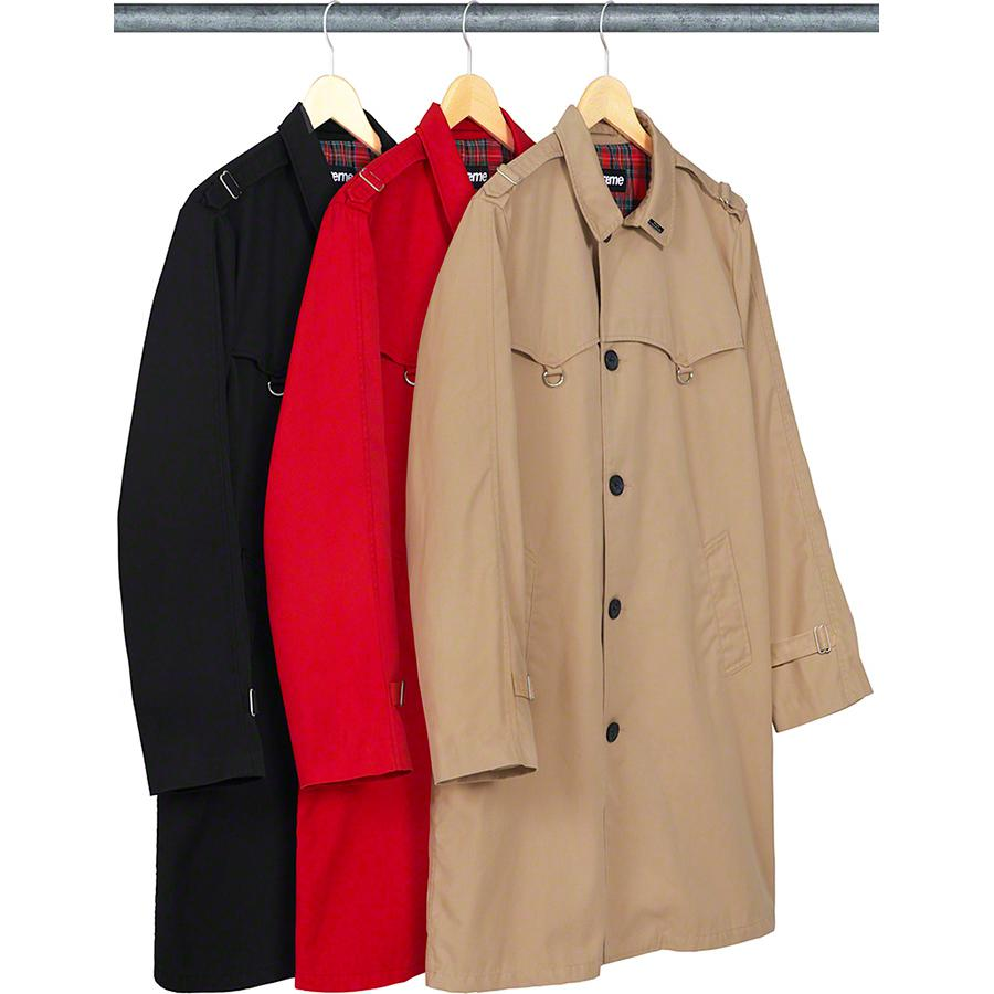 Supreme D-Ring Trench Coat