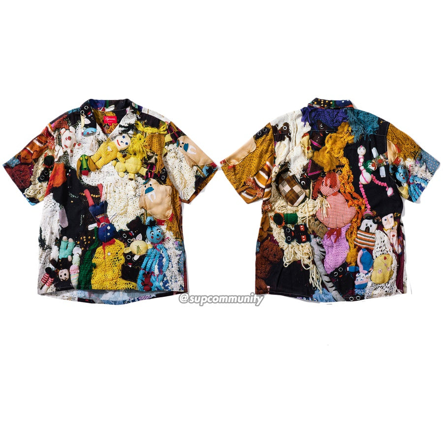 Mike Kelley/Supreme Love Hours Rayon Shirt