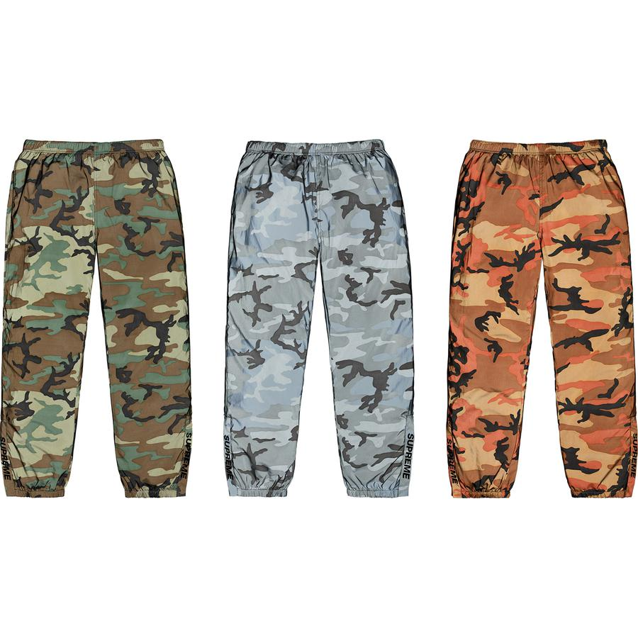 Supreme Reflective Camo Warm Up Pant