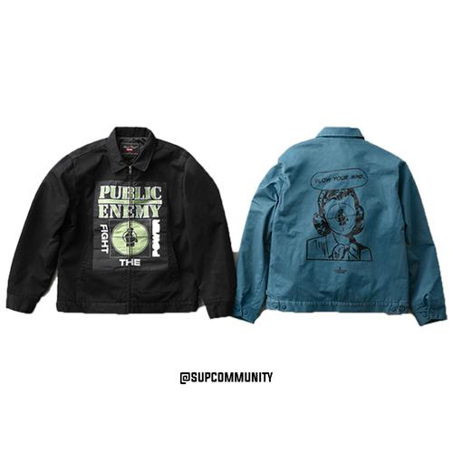 Supreme/UNDERCOVER/Public Enemy Work Jacket