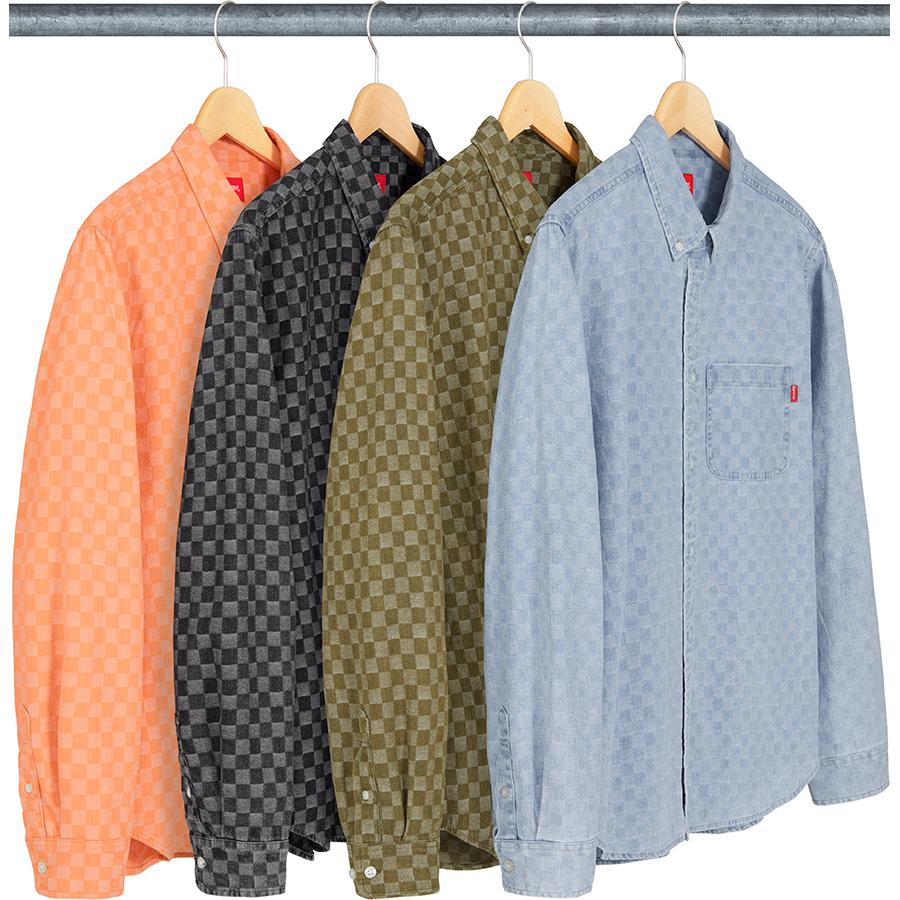 Supreme Checkered Denim Shirt