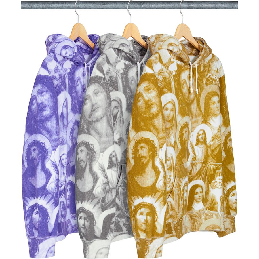 Supreme Jesus and Mary Hooded Sweatshirt