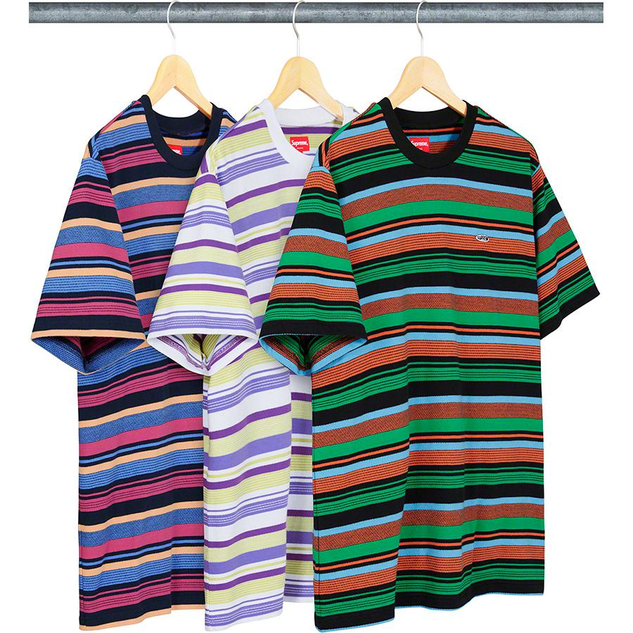 Supreme Multi Stripe S/S Top