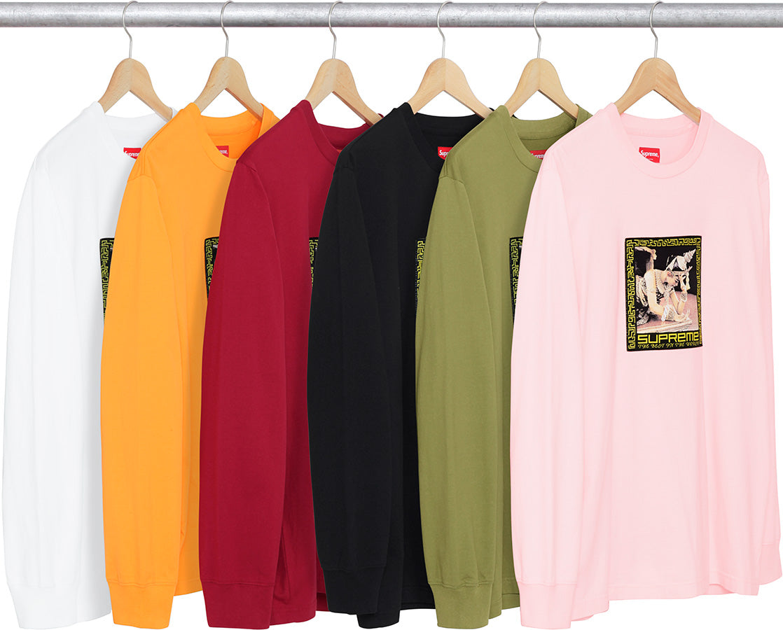 Best in the World L/S Tee Supreme FW17
