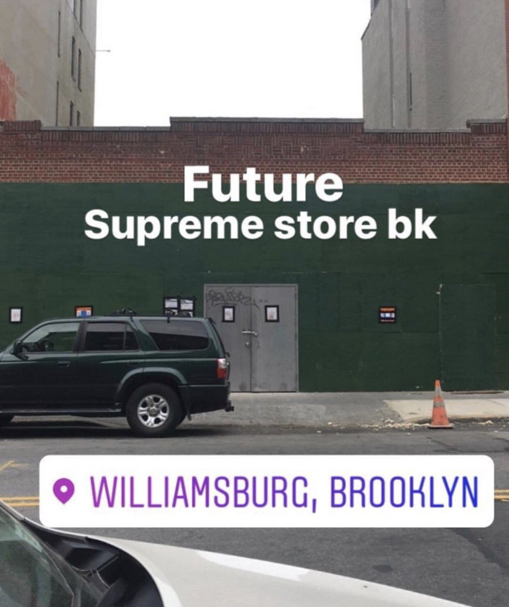 Supreme Brooklyn Store Opening (With Box Logo)