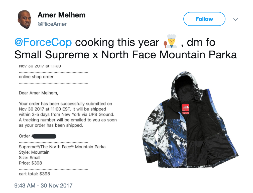 ForceCop Supreme Bot Testimonial / Review