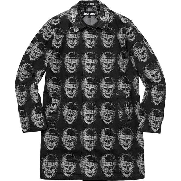 Supreme/Hellraiser Jacquard Denim Trench Coat
