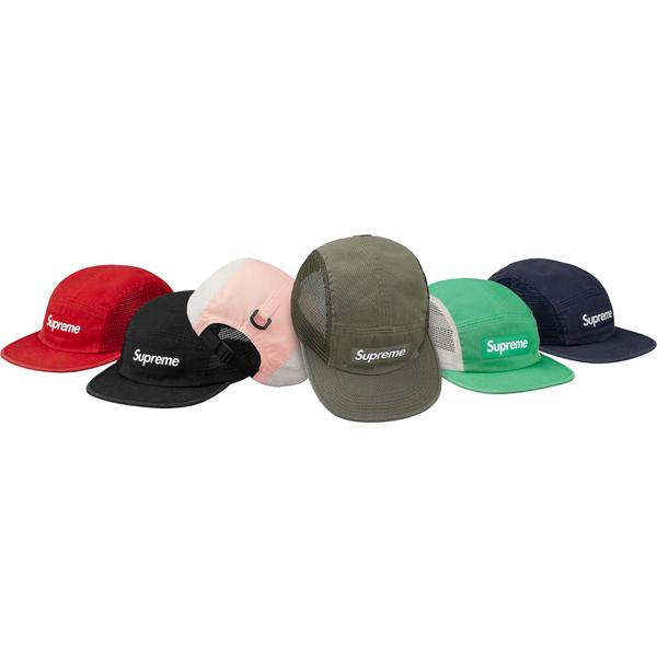Mesh Side Panel Camp Cap