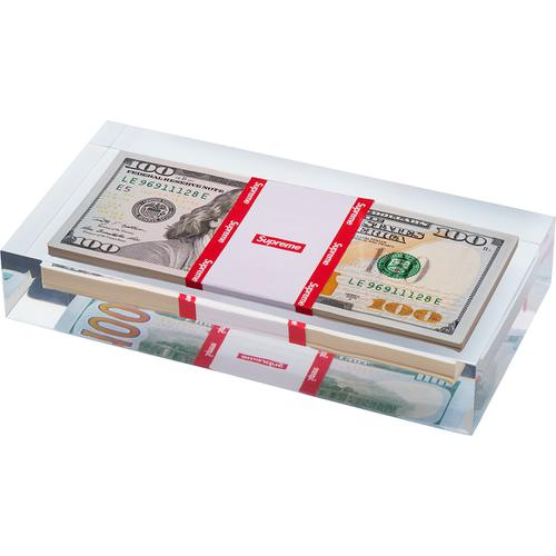 Supreme Cash Paperweight