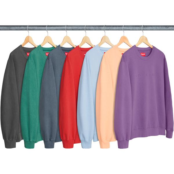 Overdyed Crewneck Sweatshirt