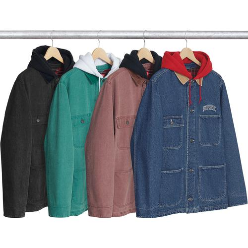 Hooded Chore Coat