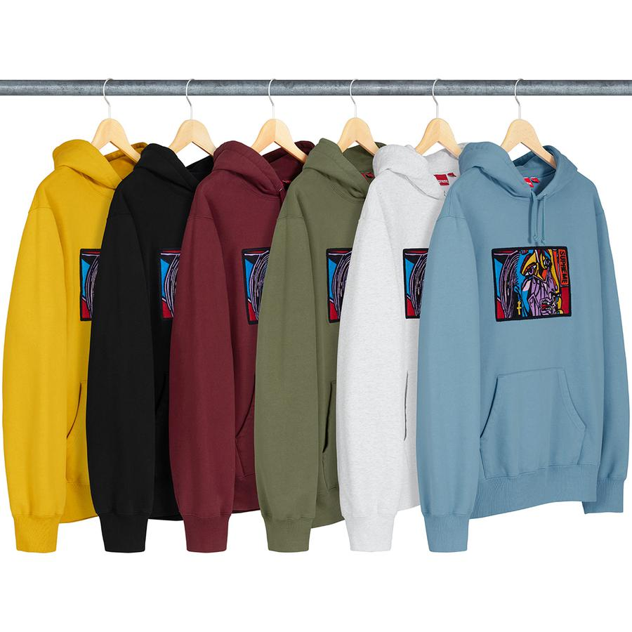 Supreme Chainstitch Hooded Sweatshirt