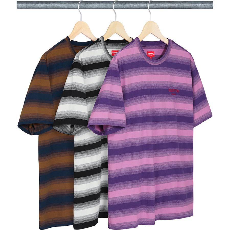 Supreme Gradient Striped S/S Top