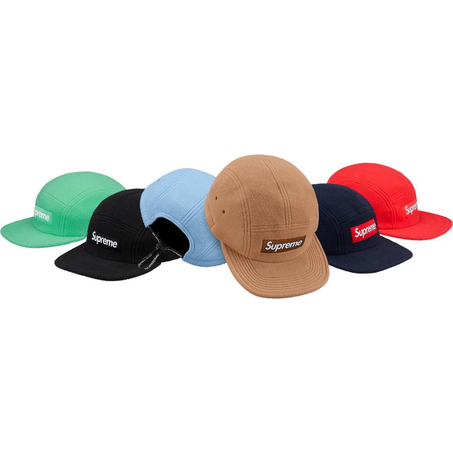 Supreme Fleece Pullcord Camp Cap
