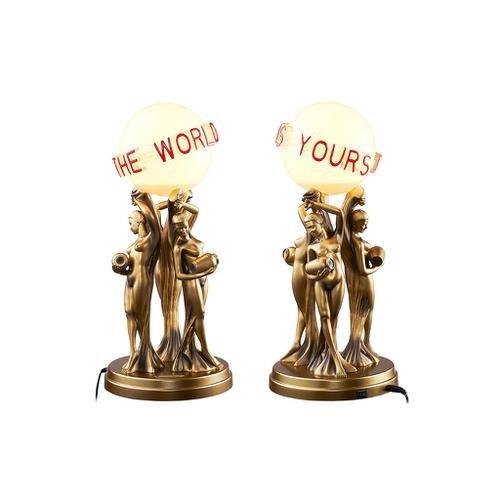 The World Is Yours Desk Lamp