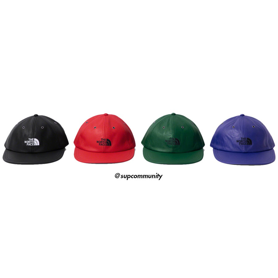 Supreme/The North Face Leather 6-Panel Hat