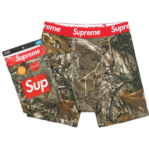 Hanes® Realtree® Boxer Briefs (2 Pack)