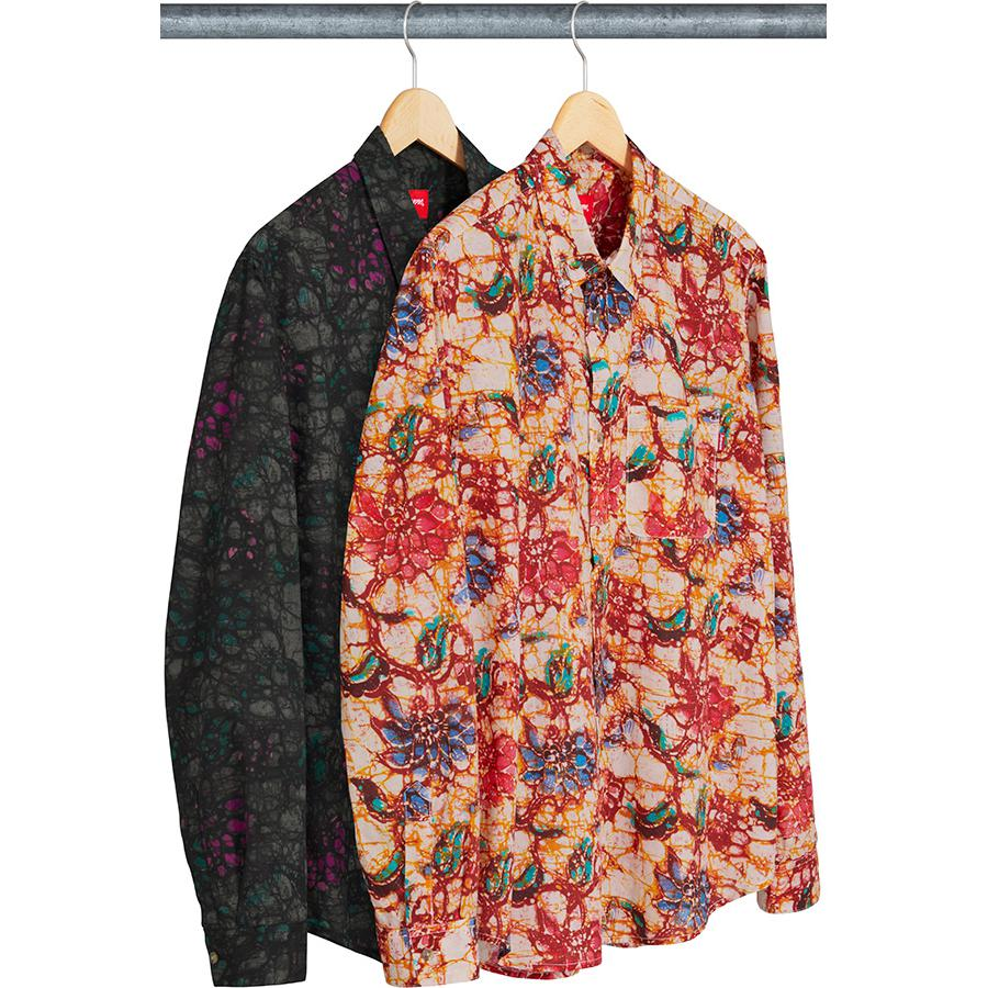 Supreme Acid Floral Shirt