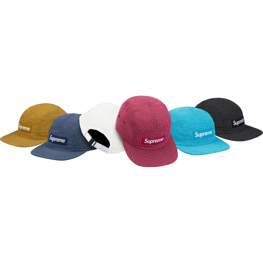 Supreme Reflective Ripstop Camp Cap