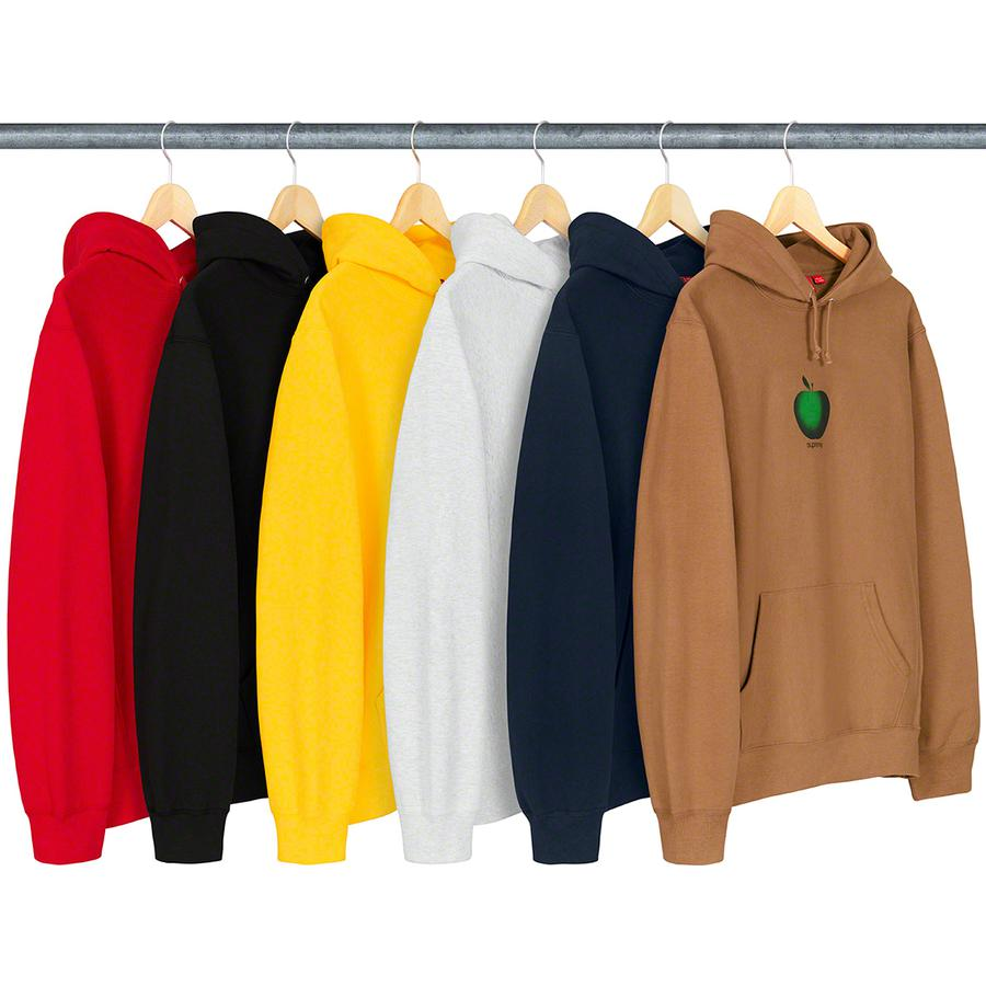 Supreme Apple Hooded Sweatshirt