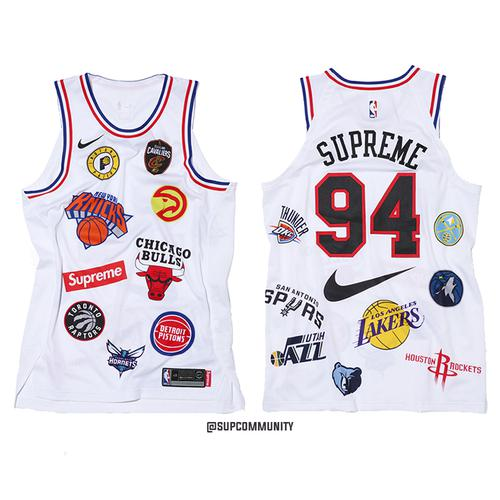Supreme/Nike/NBA Jersey (White)
